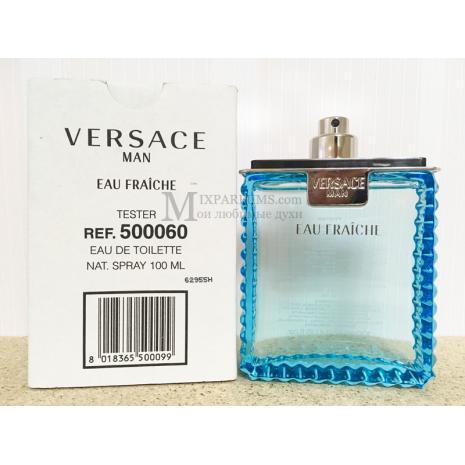 Versace Versace Man Eau Fraiche edt 100 ml m TESTER Туалетная Мужская