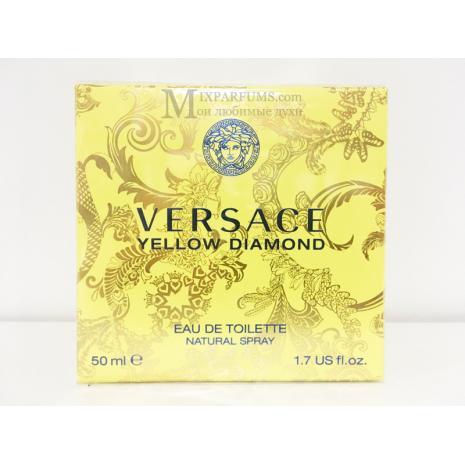 Versace Yellow Diamond edt 50 ml w Туалетная Женская